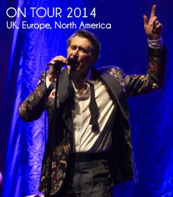 Bryan Ferry On Tour 2014