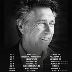 Bryan Ferry USA and Canada tour 2016
