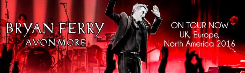 Bryan Ferry On Tour 2016