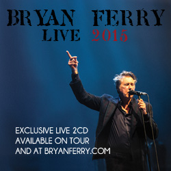 Bryan Ferry Live 2015 2CD